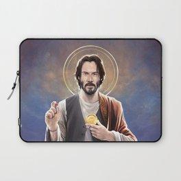 Saint Keanu of Reeves Laptop Sleeve