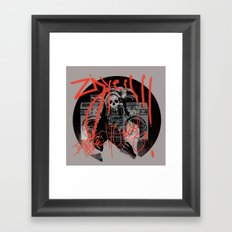 Ghetto Blaster Guadalupe Framed Art Print