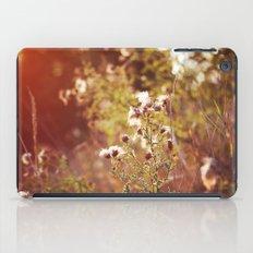golden dandelions. iPad Case
