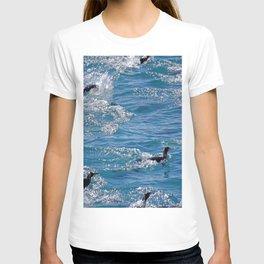 King Penguins Swimming T-shirt