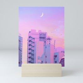Shibuya Morning Crescent Mini Art Print