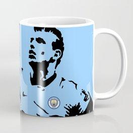 Sergio Aguero MCFC Coffee Mug