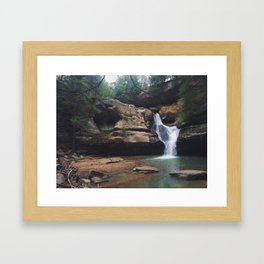 Hocking Hills Framed Art Print