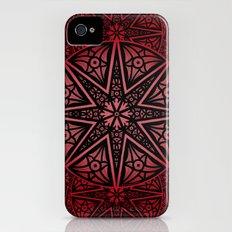 rashim red star mandala Slim Case iPhone (4, 4s)