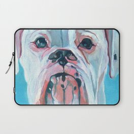 Otis the White Boxer Laptop Sleeve