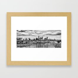 Rapperswil Castle Panorama Framed Art Print