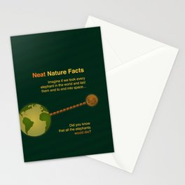 Neat Nature Facts Stationery Cards