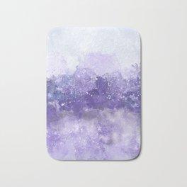 Choppy Purple Ocean Water Bath Mat