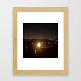 The Night Traveler Framed Art Print