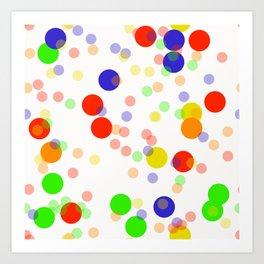 Colorful Seamless pattern Art Print