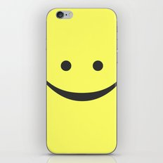 Smiley iPhone & iPod Skin