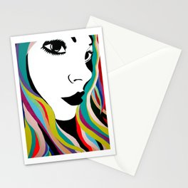 Girls Of MySpace (Tabby) Stationery Cards