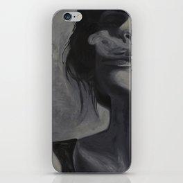 Smoking Girl iPhone Skin
