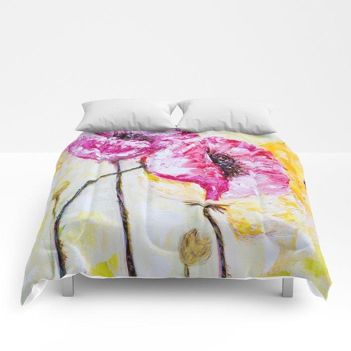 Diane L - abstrait Comforters