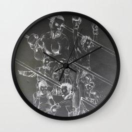 Boxing and Life Wall Clock