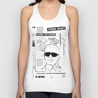 karl Tank Tops featuring Karl Lagerfeld by CLSNYC
