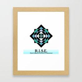 R.I.S.E. DESIGNS Framed Art Print