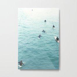surf's up. Metal Print
