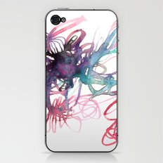 Galaxies iPhone & iPod Skin
