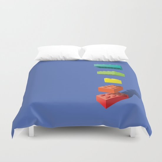 Let Go! Duvet Cover