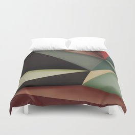 Midnight silence Duvet Cover