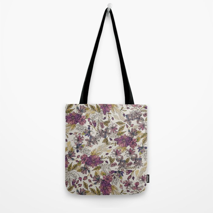Dreaming Florals Tote Bag