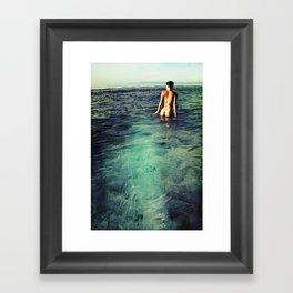 Nude Ocean Framed Art Print