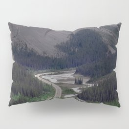 Awesome Kicking Horse Pass, Canadian Rockies Pillow Sham