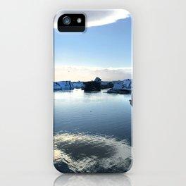 Icebergs iPhone Case