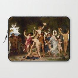 "William-Adolphe Bouguereau ""The Youth of Bacchus"" Laptop Sleeve"