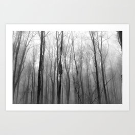 winter blight Art Print