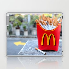 Smoked Fries Laptop & iPad Skin