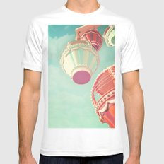 Carnival  Mens Fitted Tee 2X-LARGE White