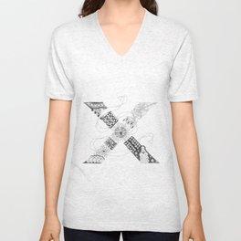 """Zenletter """"X"""" Unisex V-Neck"""