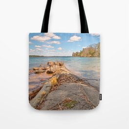 Wellesley Island Coastal Scenery Tote Bag