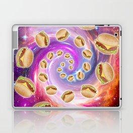 Spiral Galaxy of Burgers  Laptop & iPad Skin