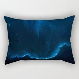 Night Blue Sea Rectangular Pillow