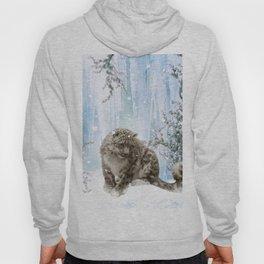 Wonderful snowleopard Hoody
