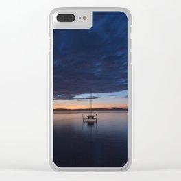 Western Michigan Retreat Clear iPhone Case