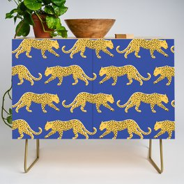 The New Animal Print - Blue Credenza
