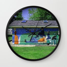 Saugatuck I Wall Clock