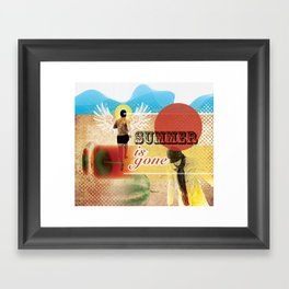 Summer is Gone Framed Art Print