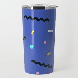 Memphis pattern 57 Travel Mug
