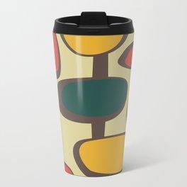 Mid Century Modern Baubles (gold) Travel Mug