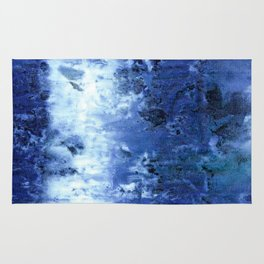 Saltwater Silk Blue Rug