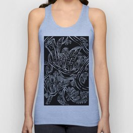 Entangled City Inverted Unisex Tank Top