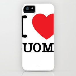 I heart Cuomo iPhone Case