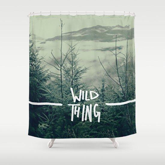 Wild Thing: Skagit Valley, Washington Shower Curtain