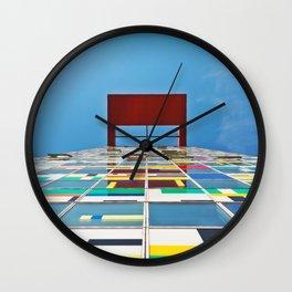 Colorful Climb Wall Clock