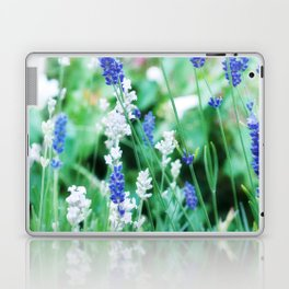White & Blue Lavender Dream #1 #art #society6 Laptop & iPad Skin